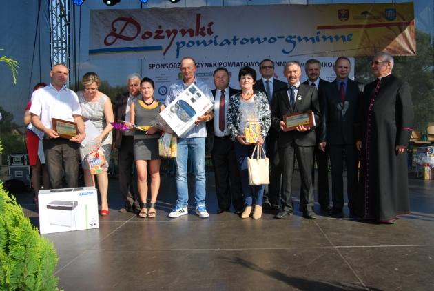 Laureaci Konkursu ROLNIK POWIATU LIPNOWSKIEGO 2014 - kat. produkcja roślinna